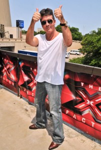 Simon Cowell Arriving At X-Factor Auditions